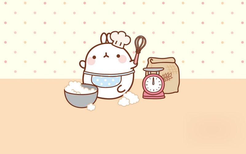 Cute Kitty Wallpaper Desktop Monday Bunday Molang Bunny Eats Design
