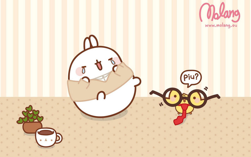 Cute My Melody Wallpaper Monday Bunday Molang Bunny Eats Design