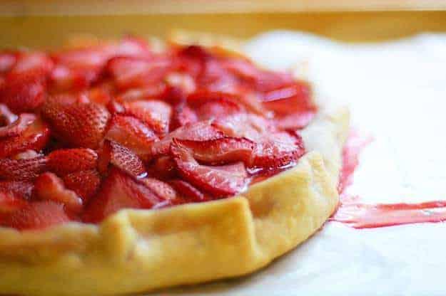 Strawberry Crostata. Now I Can Die Happy.