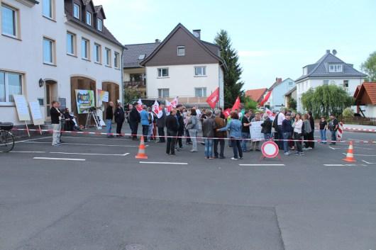 Ludwigsau-Friedlos Demo gegen AfD und Höcke