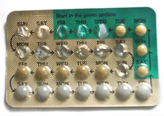 It's commonly expected for girls to pay for The Pill | photo courtesy of Wikimedia