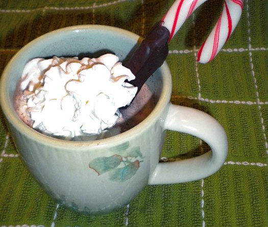 Peppermint Hot Chocolate-Annie Rath and Nicole Cousins