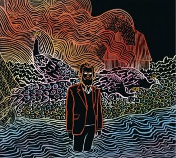 The Kiss Each Other Clean album art, courtesy of www.ironandwine.com