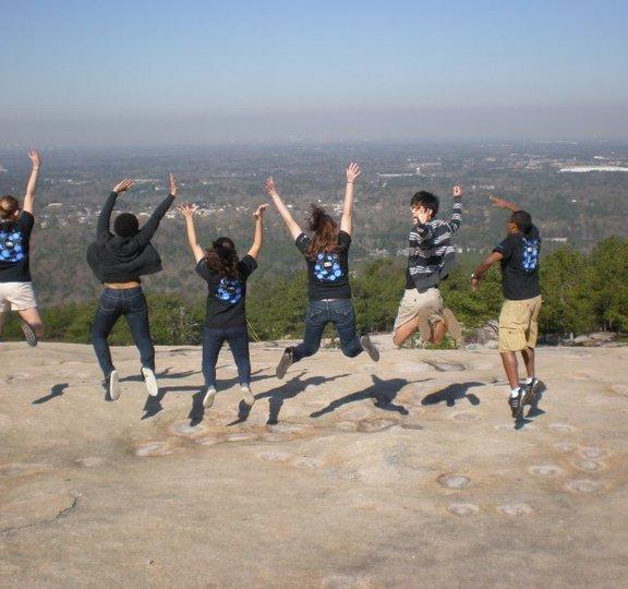 Group on Stone Mountain