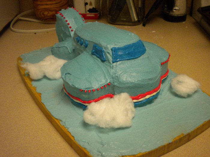 How to Build an Airplane Cake The Quad