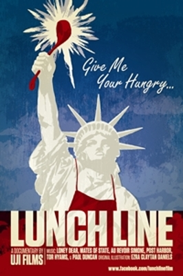 Lunch Line Poster, Courtesy of Uji Films.
