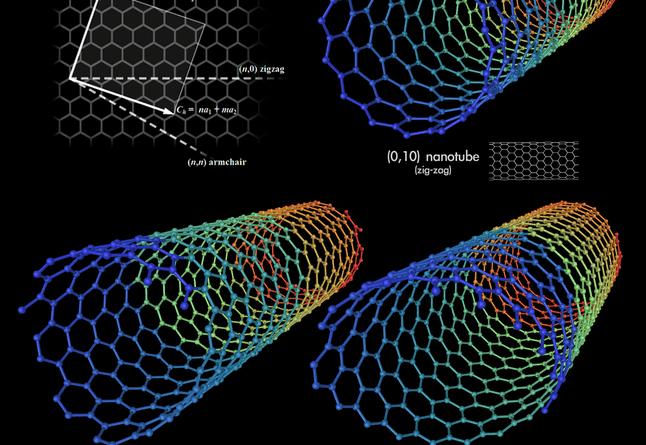 Size doesn't matter with these nanotubes. They're as strong as steel and as light as air. | Photo courtesy of Wikimedia Commons.