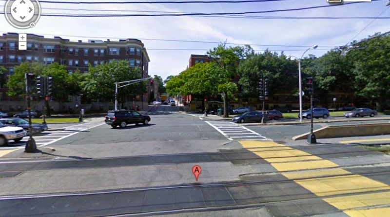 Screen shot of a Google Maps photo of 139 Allston Street.