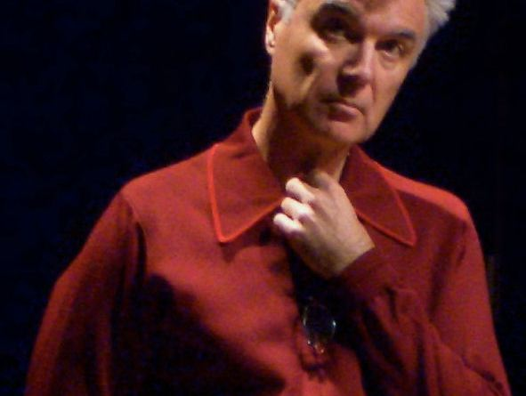 David Byrne, speaking about the future of music in 2006. | Image courtesy flickr user vonlohmann via Wikimedia Commons