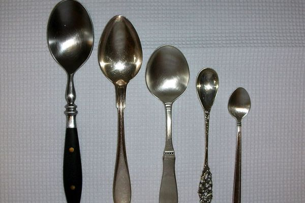 Spoons awaiting their praise. Photo courtesy of Wikimedia Commons.