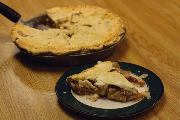 Momma Lucas' homemade apple pie