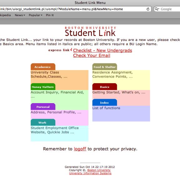 Studentlink
