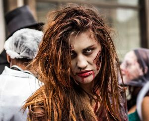 A zombie invasion would bite, but fortunately zombie cells could be the fuel of the future. | Photo courtesy of russavia via WikiMedia Commons.