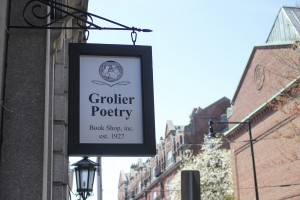 Grolier Poetry Bookshop in Cambridge was founded in 1927 and was visited by many of America's most influential poets. | Photo by Katy Meyer
