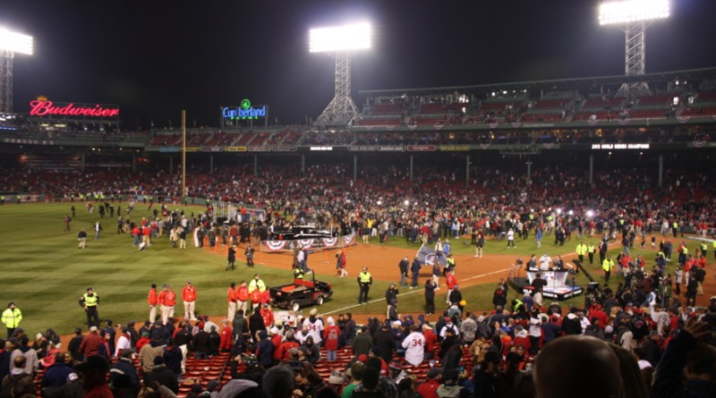 Let's just say that it shouldn't have been this easy to sneak into Fenway Park, minutes after the Red Sox won the 2013 World Series
