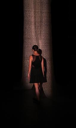 Walking towards the Veil | Photo courtesy of Ryan Carollo via Lumainariumdance.org