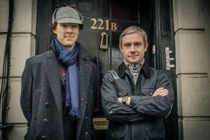 The world famous detective partnership reunited. Promotional Photo courtesy of bbc.co.uk