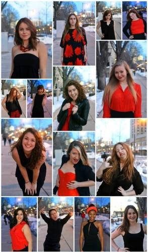 The cast of VagMo 2014| Photos by Kara Korab