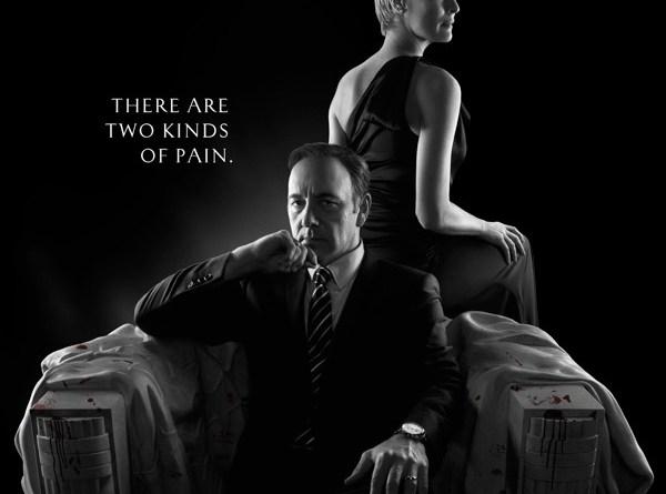 The Underwood couple. Promotional poster courtesy of Netflix