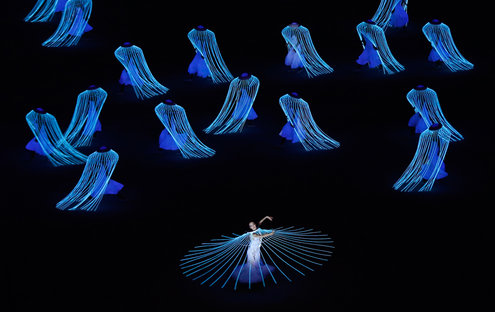 Russia's rendition of Doves of Swan |Photo courtesy of Robert F. Bukaty/Associated Press