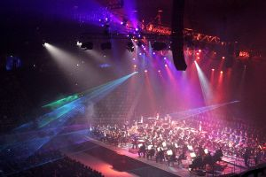 Classical spectacular combines stunning lights with classical music| courtesy of wikicommons via fir0002/Flagstaffotos