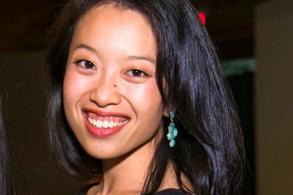 Emily Wang graduated from Harvard Business School this year.   Photo courtesy of Vinobly