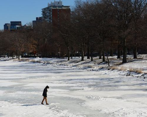 Walking on the Charles is dangerous | Photo courtesy of bostonzest.com