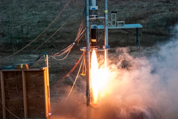 BURPG launching their MkII rocket last year. | Photo courtesy of burocket.org.