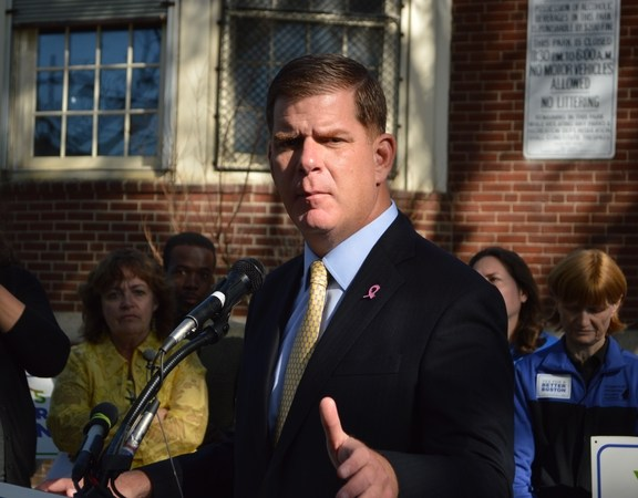 Mayor Marty Walsh speaks about diversity.