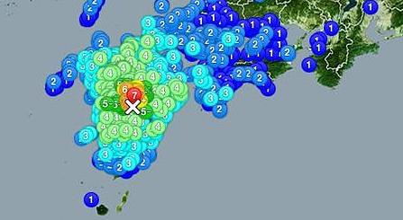 九州地震 熊本県の避難所の一覧