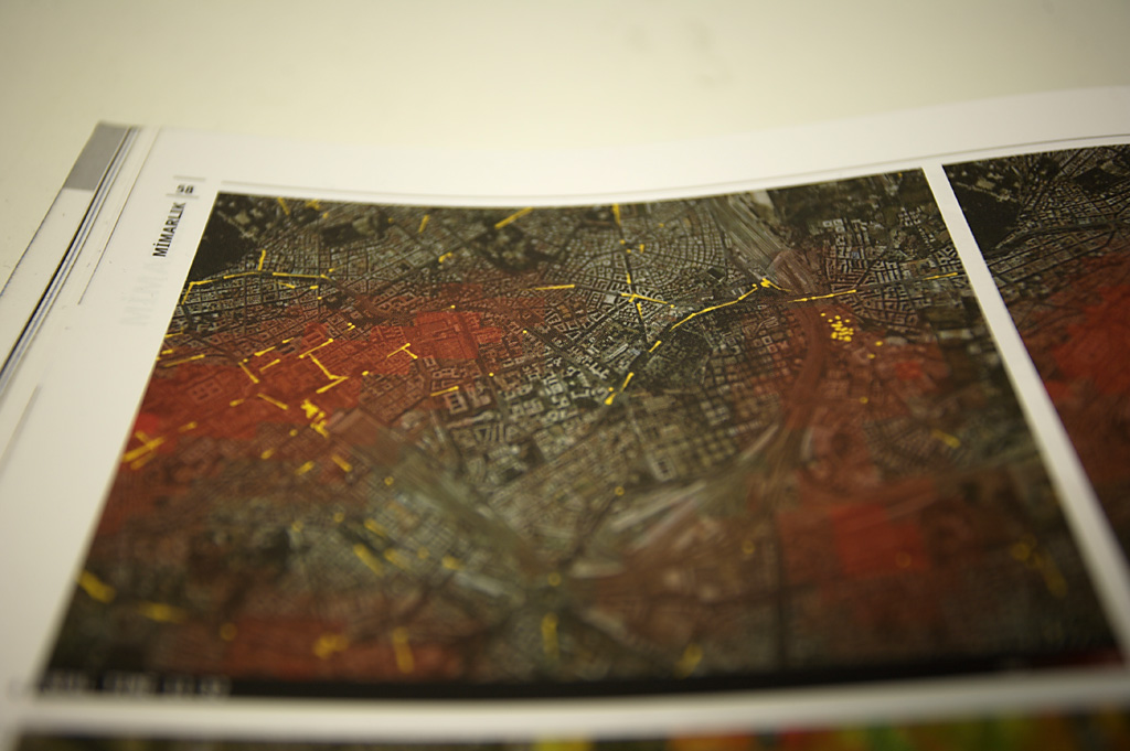 Print from Arredamento Architecture Magazine, 2006.