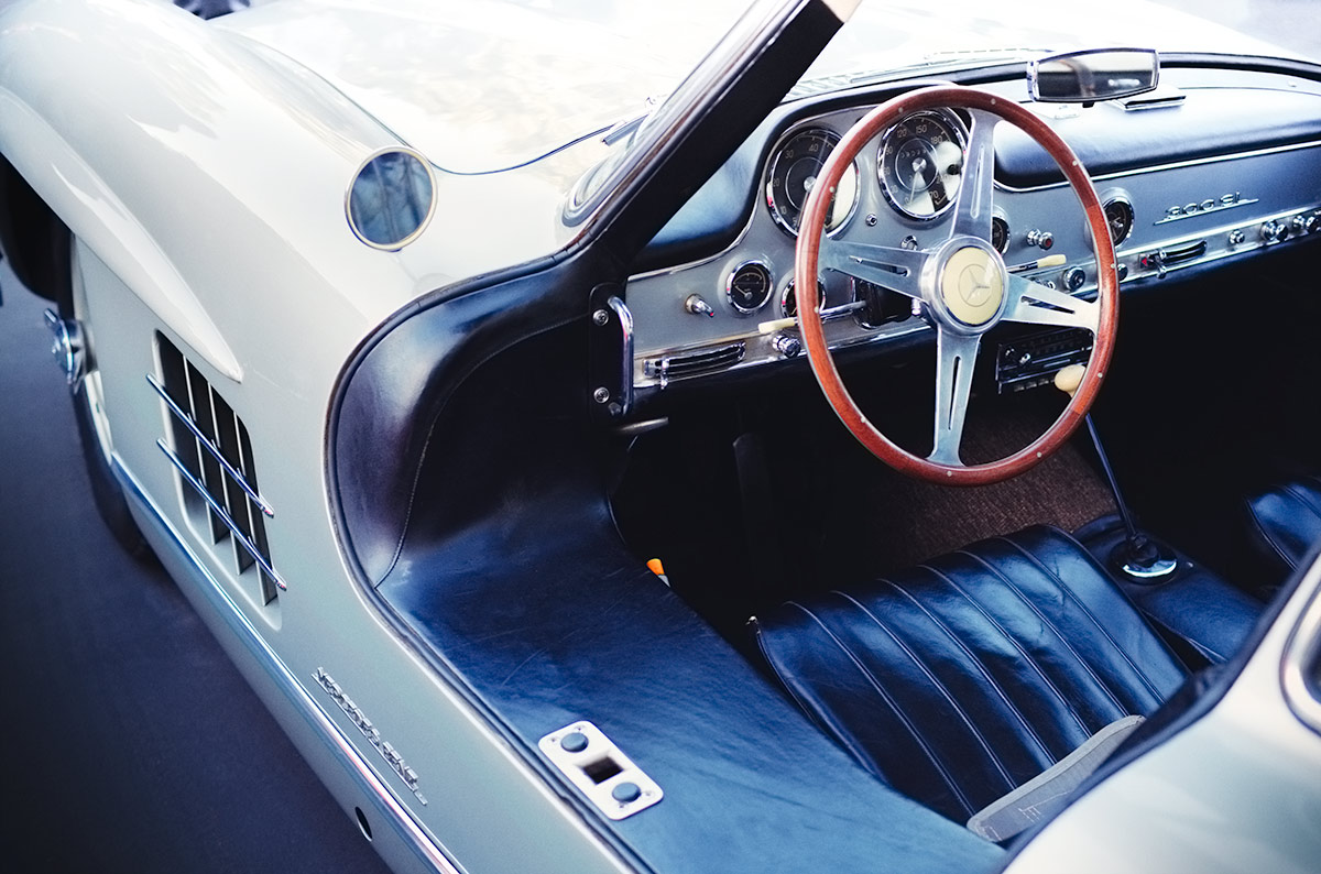Mercedes Car Wallpaper For Mobile Mercedes 300sl Gullwing Interior