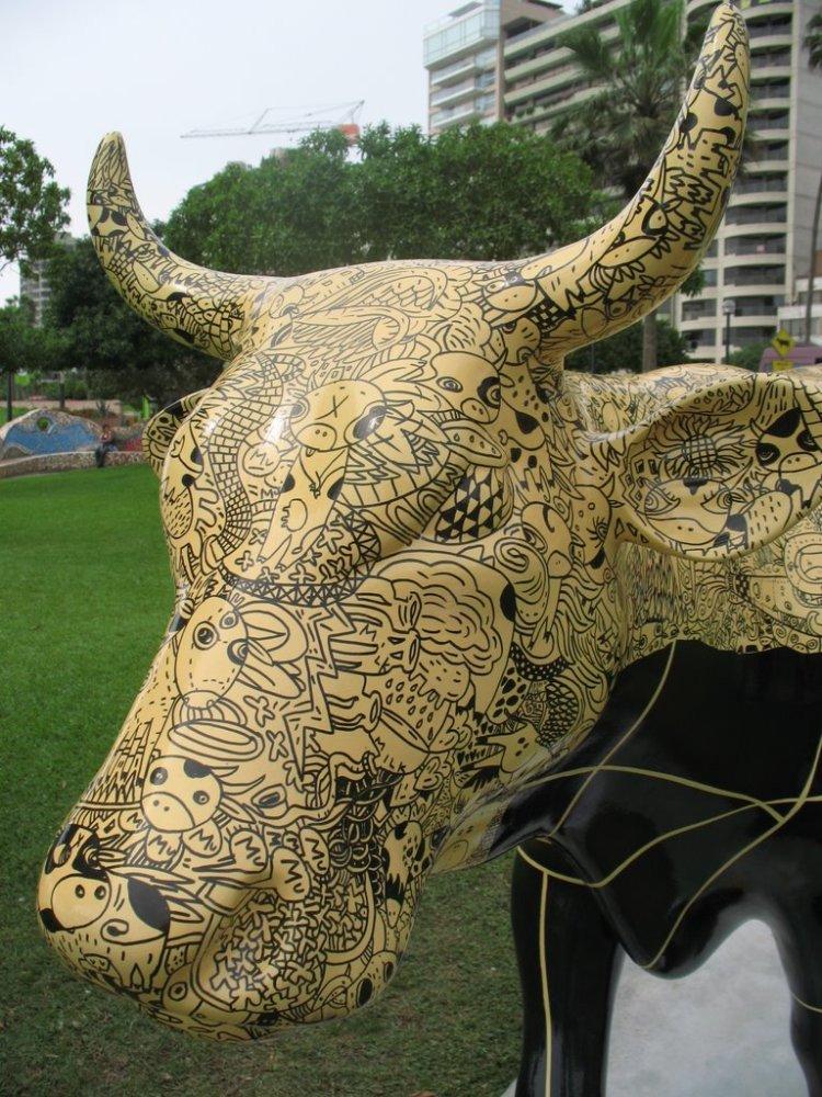 Alguito del Cow Parade :) (5/5)