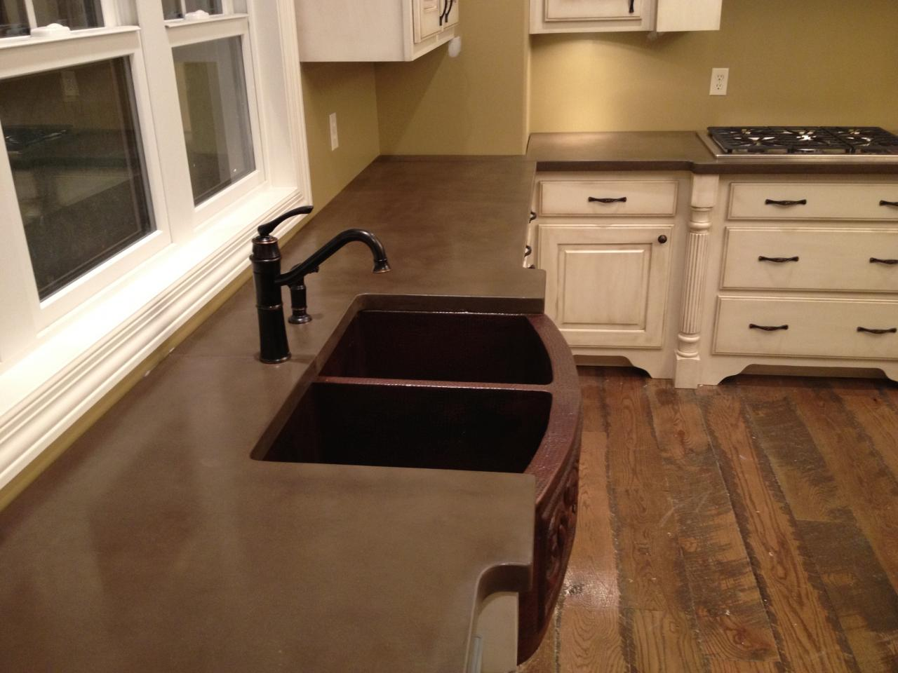 What Kind Of Concrete To Use For Countertops Burco Surface And Decor Llc Concrete Countertops Atlanta