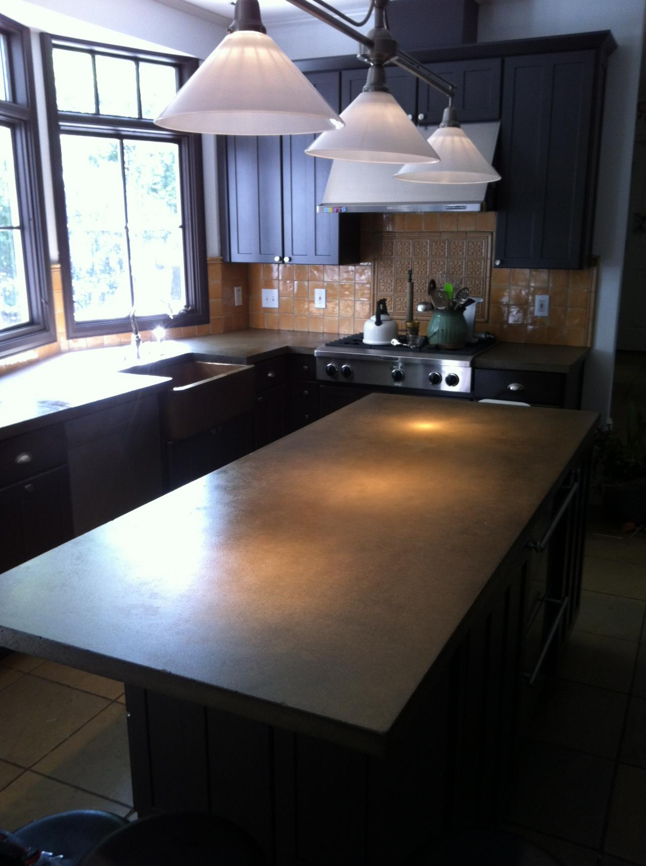 Finished Concrete Countertops Burco Surface And Decor Llc Concrete Countertops Atlanta