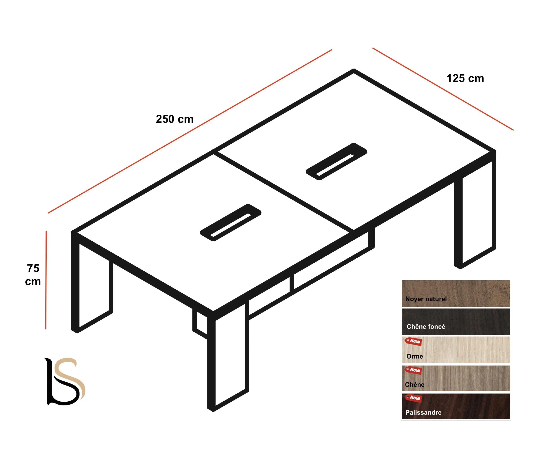 Table De Réunion Lithos Pour 6 à 8 Personnes Dellarovere Tables D 448bdabb4c0c