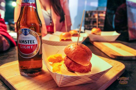 Pincho Factory's winning Croquetesa burger.