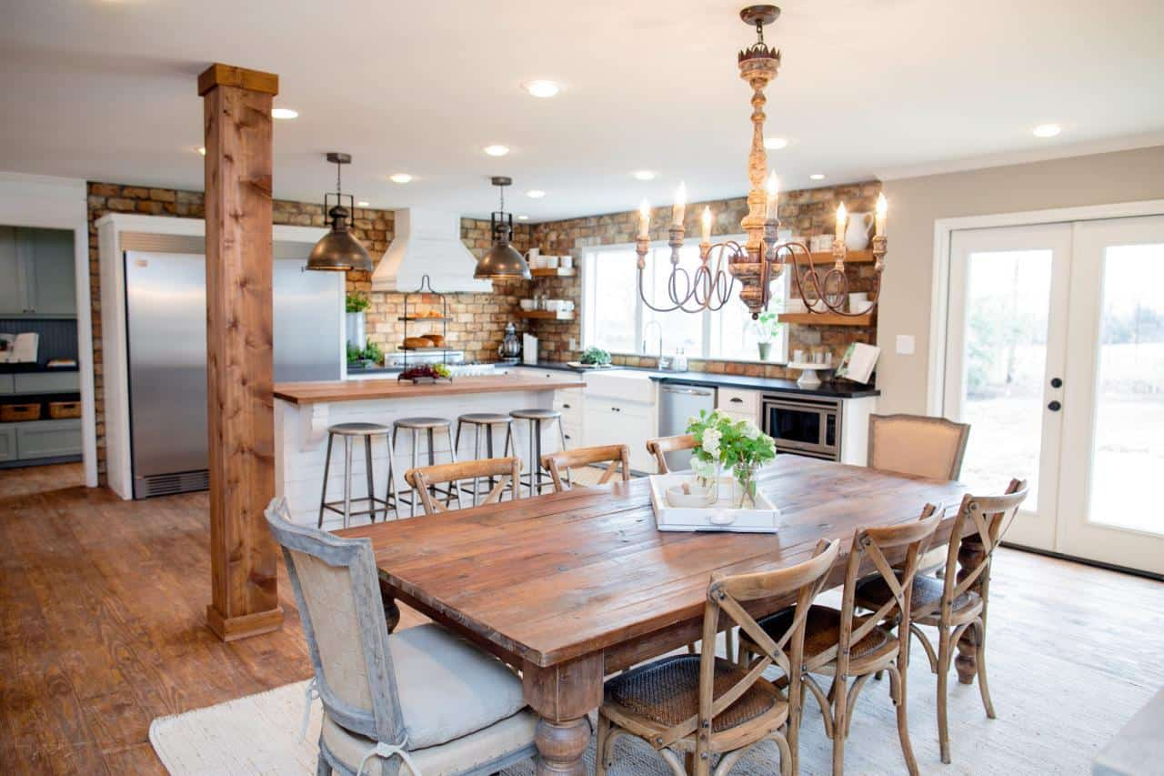 French Country Fixer Upper Kitchens Fixer Upper Kitchens Living And Dining Rooms 21 Favorites