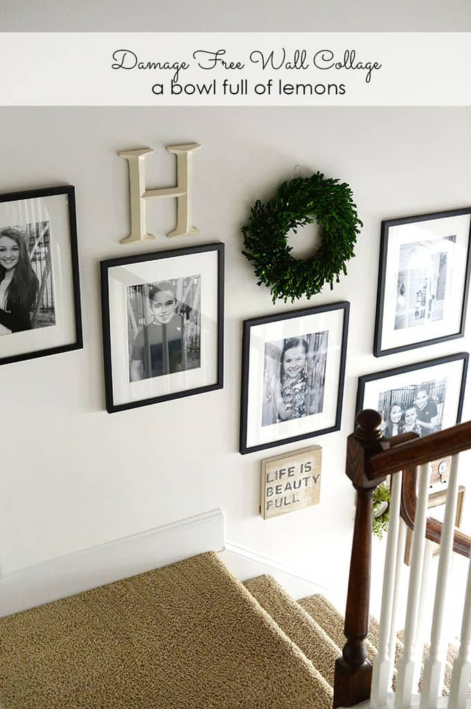Mirror Collage Decorating With Boxwood Wreaths