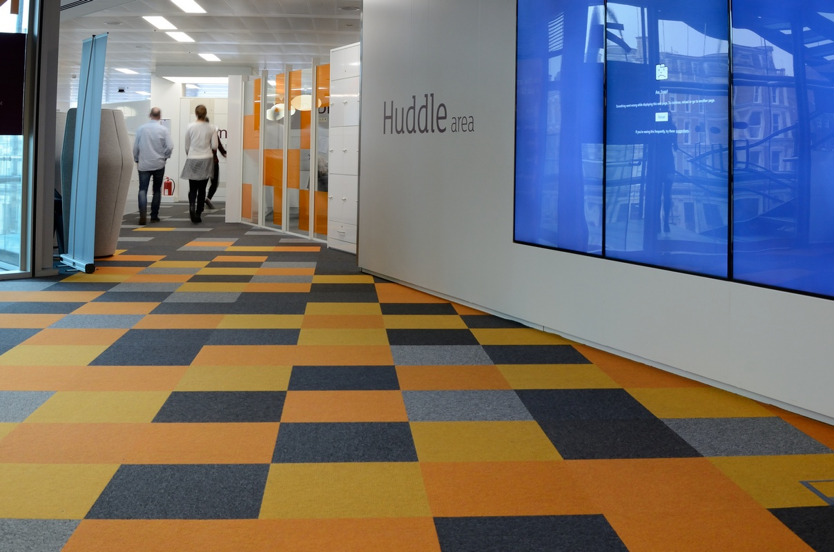 Tivoli Strand Lighting Sainsburys Head Office Transformation Burmatex