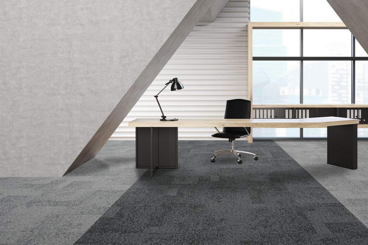 Tivoli Strand Lighting Dark Grey Carpet Tiles And Planks From Burmatex