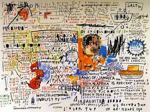 Basquiat's notebooks, the subject of an exhibition at the High Museum (organized by the Brooklyn Museum) are a visual record his active mind and creativity.
