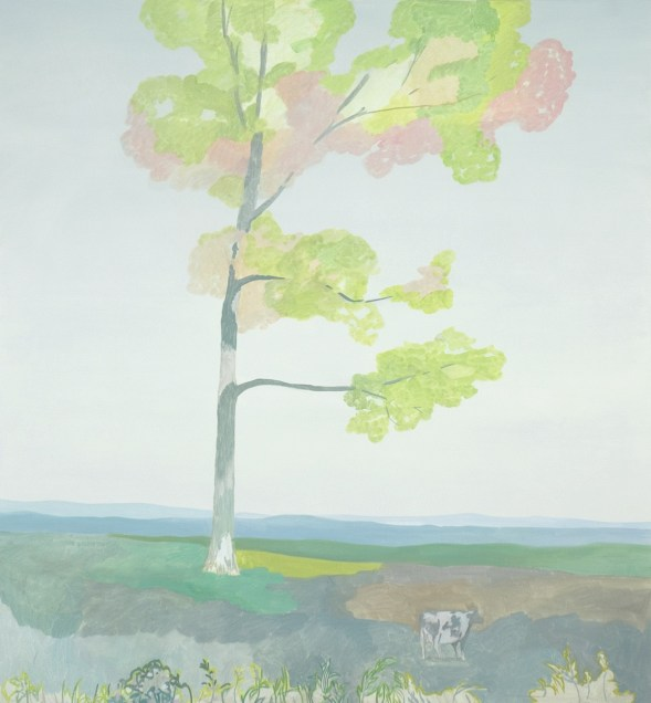 Jake Longstreth, Pasture, 2010, oil on canvas.