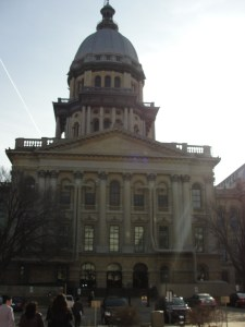 April 2011- Springfield, Illinois  Fighting for Illinois House Bill 2193