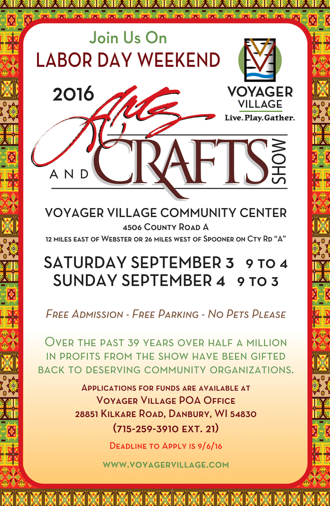 Voyager Craft Show Poster 2016-1000