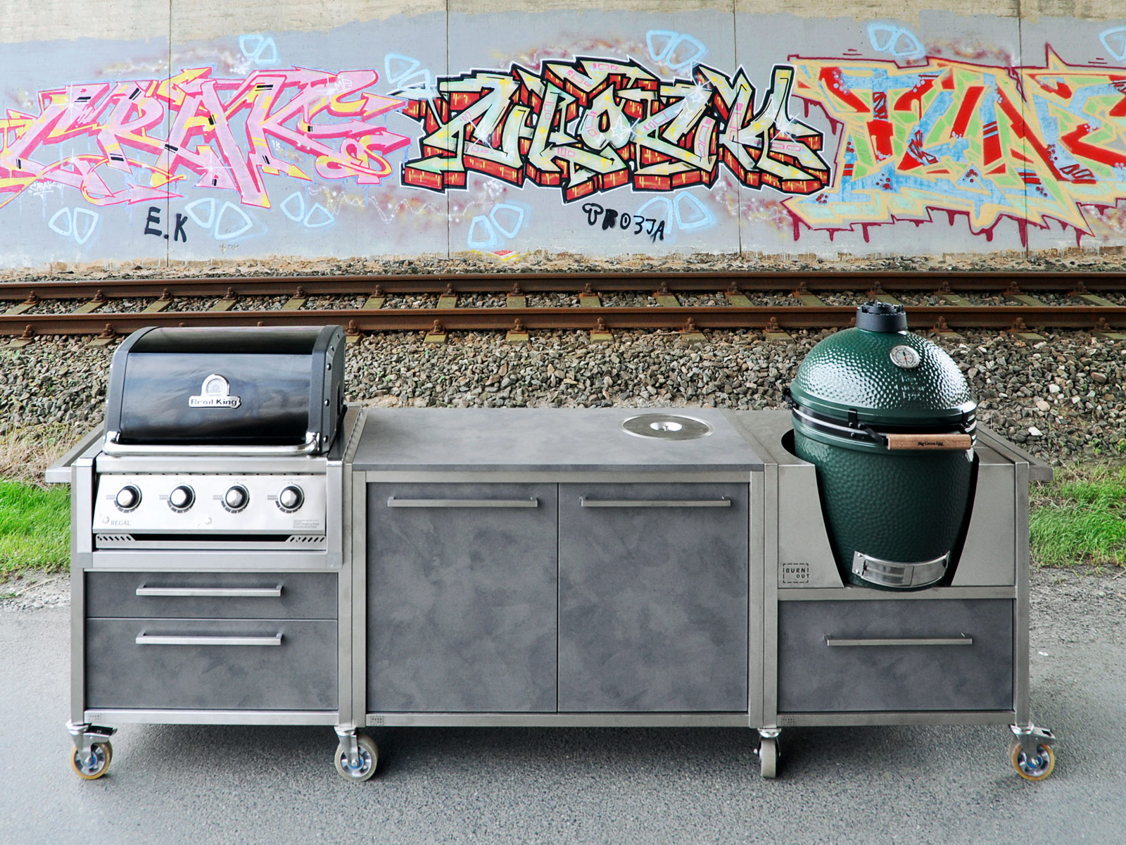 Outdoor Küche Burnout Unsere Grills Burnout Kitchen Die Outdoorküche