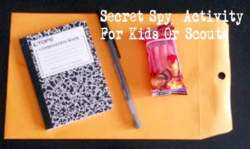secret spy activity