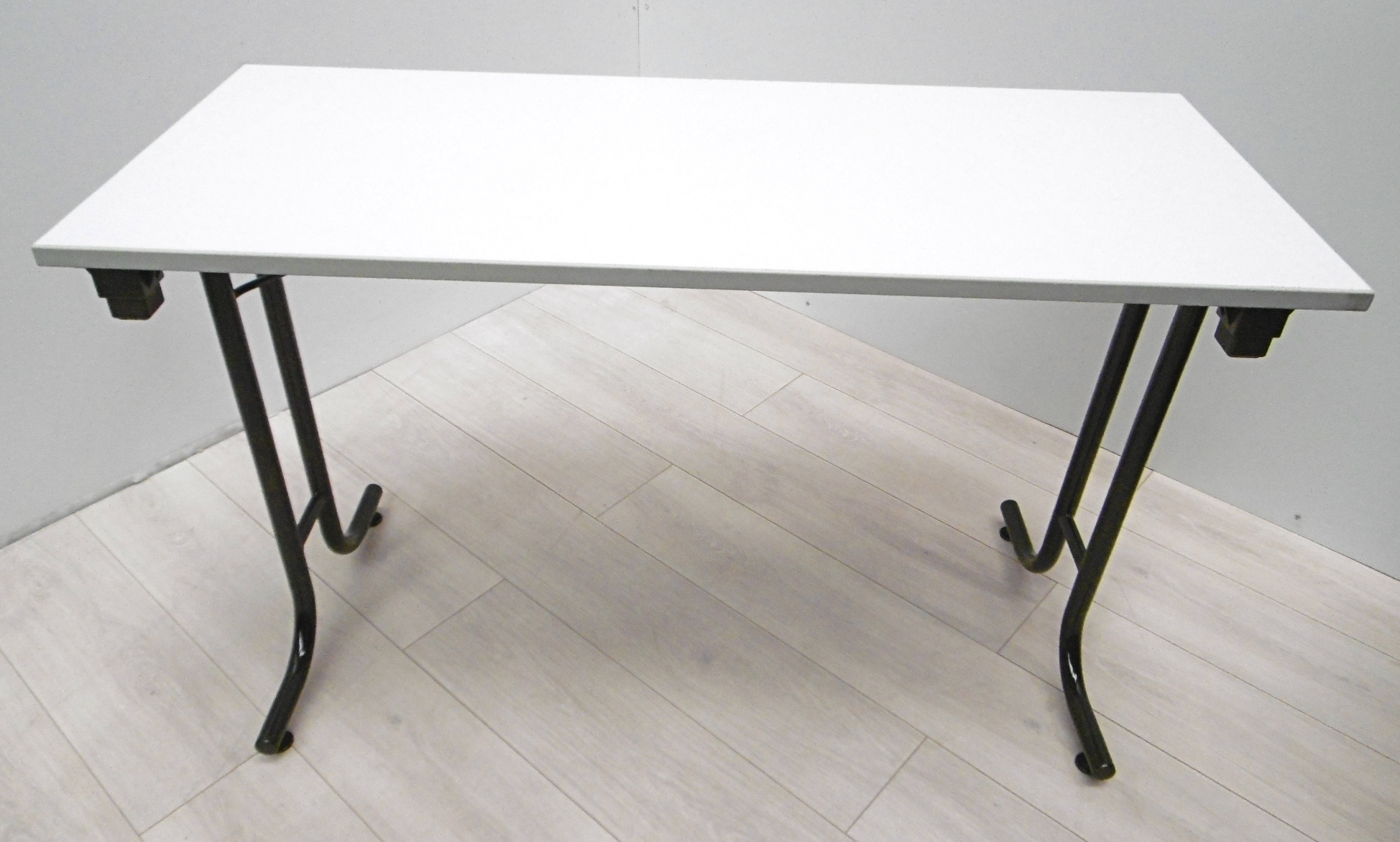 Table Haute Grise Table Pliante Grise 150x75 Burocase