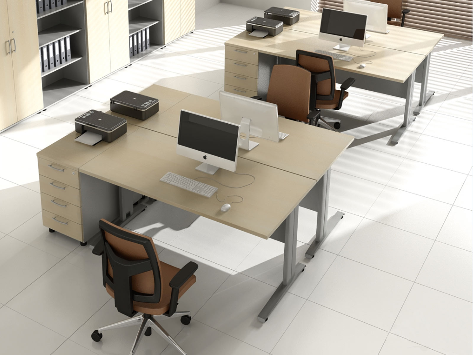 Bureau pour deux personnes d office interior design arch student