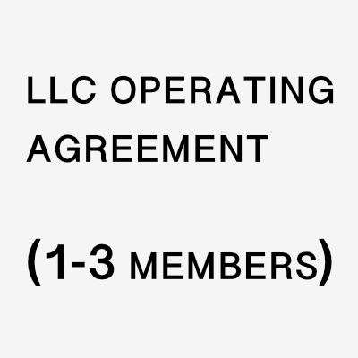 LLC Operating Agreement - Burrell Law - NYC Business Lawyer